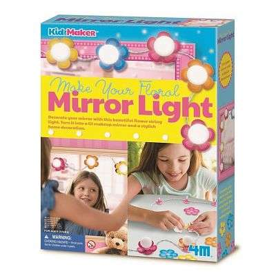 Cover of Make Your Own Floral Mirror Light - Great Gizmos - 4893156047427