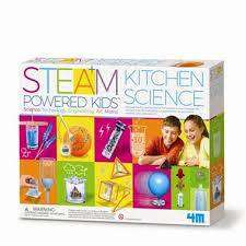 Cover of STEAM Powered Kids - Kitchen Science - Great Gizmos - 4893156055330