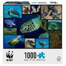 Cover of WWF 1000 Piece Puzzle - Marine Turtles - 4897049300569