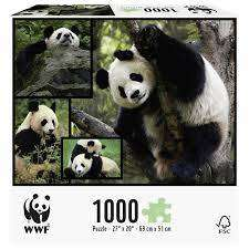 Cover of WWF 1000 Piece Puzzle - Pandas - Great Gizmos - 4897049300620