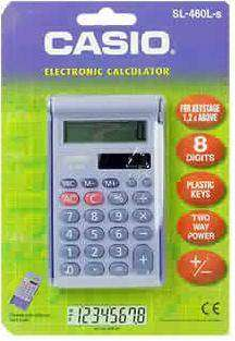 Cover of Casio SL460L Basic Calculator - Casio - 4971850161165