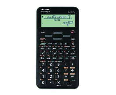 Cover of Sharp Scientific EL-W531TLB-BK 4 Line Display, 420 Functions, Black - 4974019967523