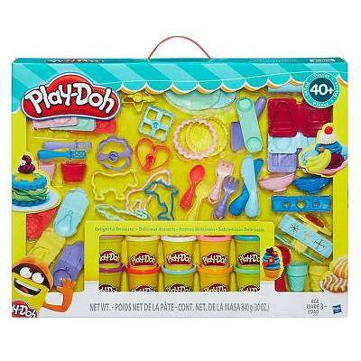 Cover of Playdoh Delightful Desserts - 5010993302734