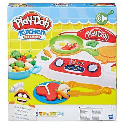 Cover of Play-Doh Sizzlin Stovetop - Play-doh - 5010993322077
