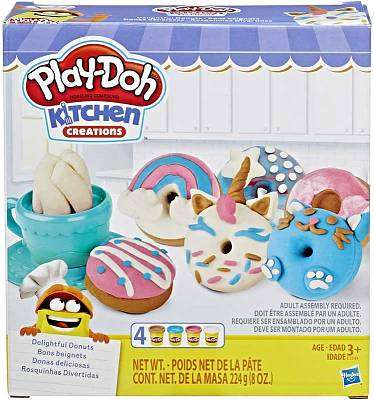 Cover of Playdoh Kitchen Creations Donut Set - Hasbro - 5010993555970