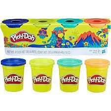 Cover of Playdoh 4 Classic Colours - 5010993558957