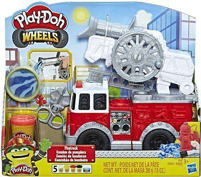 Cover of Playdoh Fire Truck - Hasbro - 5010993597338