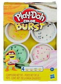 Cover of Play-Doh Assorted Ice Cream Colour Burst - 5010993618767