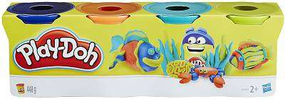 Cover of Playdoh 4 Pack Classic Colours - Play-doh - 5010994947033