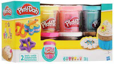 Cover of Playdoh Confetti Compound Collection - Play-doh - 5010994949587