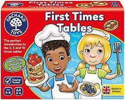 Cover of First Times Tables - Orchard Toys - 5011863000989