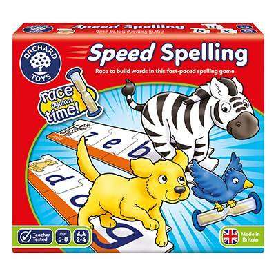 Cover of Speed Spelling - 5011863000996