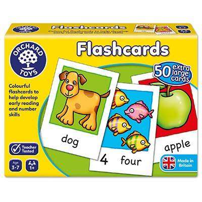 Cover of Flashcards - Orchard Toys - 5011863101075