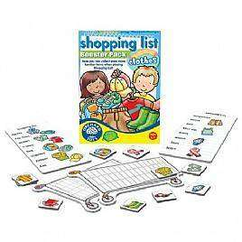 Cover of Shopping List Booster Pack : Clothes - Orchard Toys - 5011863101167