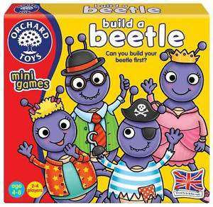 Cover of Build A Beetle Mini Game - Orchard Toys - 5011863102065