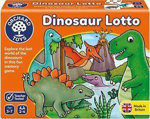Cover of Dinosaur Lotto - Orchard Toys - 5011863102997
