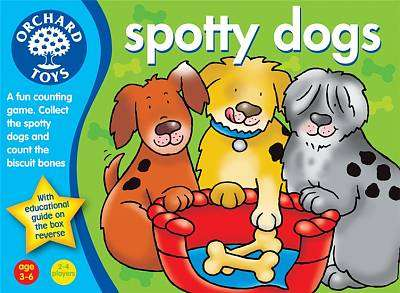 Cover of Spotty Dogs - Orchard Toys - 5011863200198