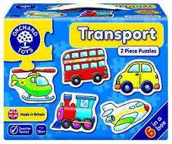 Cover of First Puzzles : Transport - Orchard Toys - 5011863301031