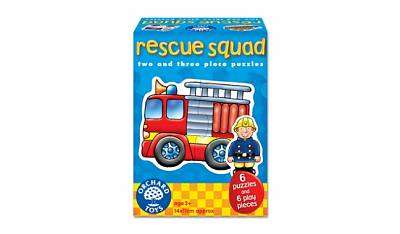 Cover of First Puzzles : Rescue Squad - Orchard Toys - 5011863301116