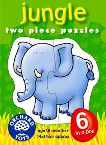 Cover of First Puzzles : Jungle - Orchard Toys - 5011863301147