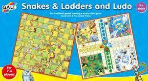 Cover of Snakes And Ladders And Ludo - Galt - 5011979312150