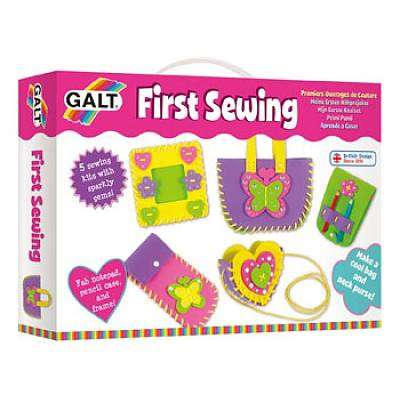 Cover of First Sewing - Galt - 5011979322456