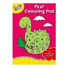 Cover of First Colouring Pad - Galt - 5011979323835