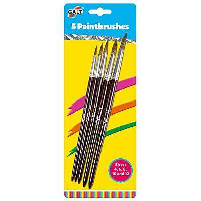 Cover of PAINTBRUSHES 5 PACK - SOFT - Galt - 5011979517876