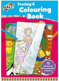Cover of Tracing & Colouring Book - Galt - 5011979578686