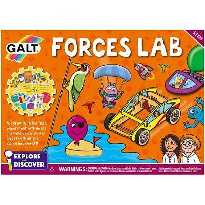 Cover of Forces lab - 5011979582379