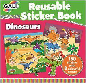 Cover of Reusable Sticker Book - Dinosaurs - Galt - 5011979584892