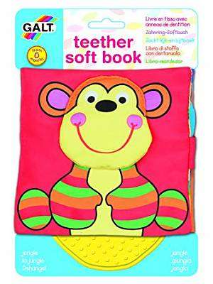 Cover of Teether Soft Book - Jungle - Galt - 5011979584984