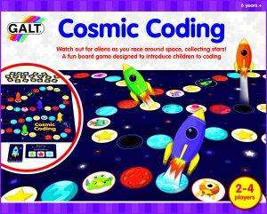Cover of Cosmic Coding Game - Galt - 5011979586124