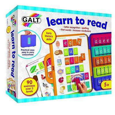Cover of Learn to Read - Galt - 5011979592873