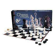 Cover of Chess & Draughts Set - Gibson Games - 5012269002843