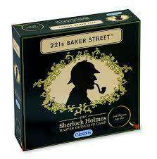 Cover of 221B Baker Street Master Detective Game - Gibson Games - 5012269007787
