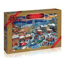 Cover of Driving Home for Christmas Limited Edition Puzzle - Gibsons - 5012269020182
