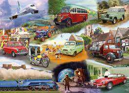 Cover of Transport 24 Piece XXL Puzzle - Gibson Games - 5012269022551