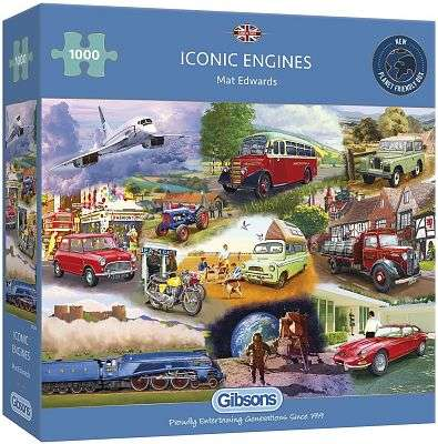 Cover of Iconic Engines - Gibson Games - 5012269062939