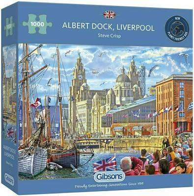 Cover of Albert Dock Liverpool 1000 Piece Puzzle - Gibson Games - 5012269062984