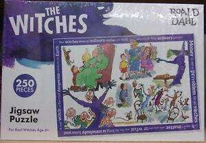 Cover of The Witches 250 Piece Puzzle - 5012822075352