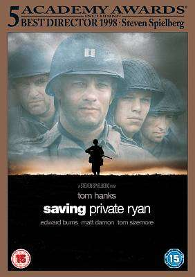 Cover of Saving Private Ryan DVD - 5014437804037