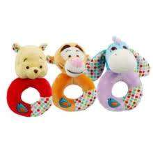 Cover of Winnie the Pooh Good Morning Ring Rattle Assortment - Rainbow Designs - 5014475210661