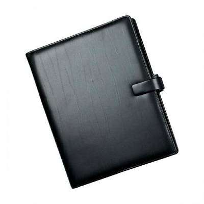 Cover of A4 Metropol Black Leather look Organiser - Filofax - 5015142154264