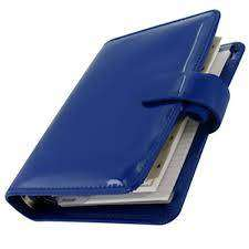 Cover of Filofax - Pocket Patent Blue - Filofax - 5015142234478