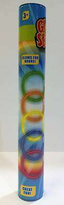 Cover of Glow Sticks 15 Piece Tube - 5021813147107
