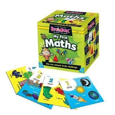 Cover of Brain Box - My First Maths - Evans Educational - 5025822900395