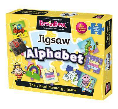 Cover of Brainbox Alphabet Jigsaw - 5025822910011