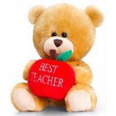Cover of Pipp The Bear Best Teacher 14cm Plush - Keel Toys - 5027148007567