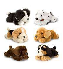 Cover of Laying Dogs 25cm Plush Asstd. - Keel Toys - 5027148040557